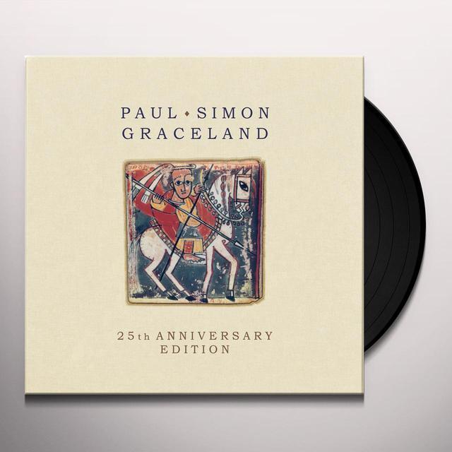 Paul Simon GRACELAND: 25TH ANNIVERSARY EDITION Vinyl Record - 180 Gram Pressing, Anniversary Edition