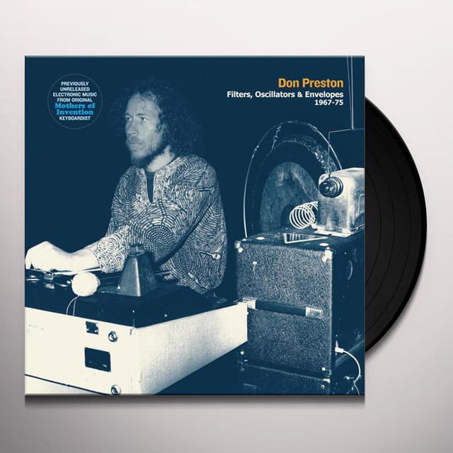 Don Preston FILTERS, OSCILLATORS & ENVELOPES 1967-75 Vinyl Record