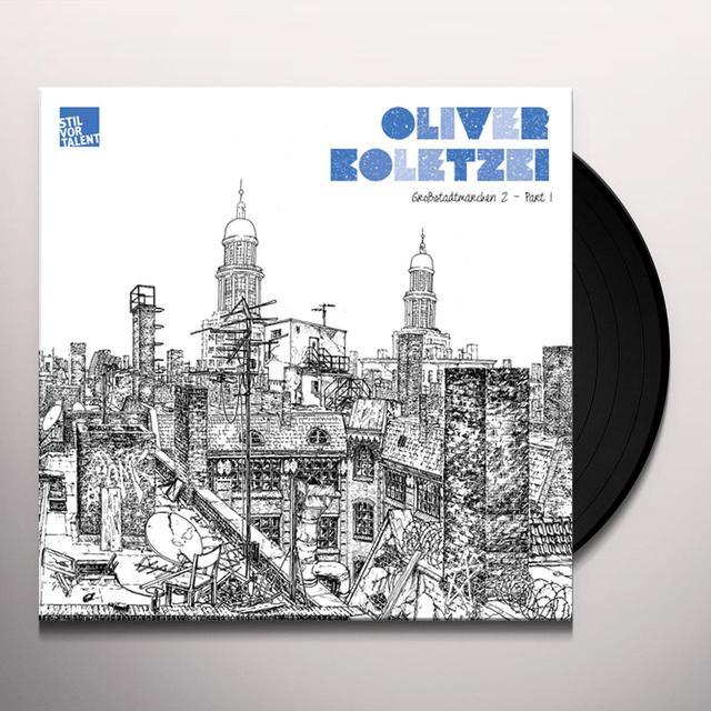 Oliver Koletzki GROBSTADTMARCHEN 2 PART 1 Vinyl Record