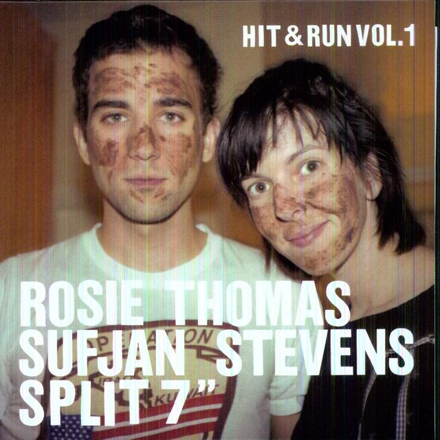 Rosie Thomas / Sufjan Stevens HIT & RUN 1 (DLCD) (Vinyl)
