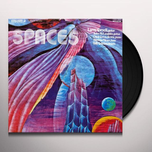 Larry Coryell SPACES Vinyl Record