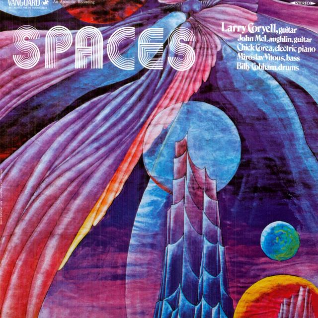 Larry Coryell SPACES Vinyl Record - Remastered