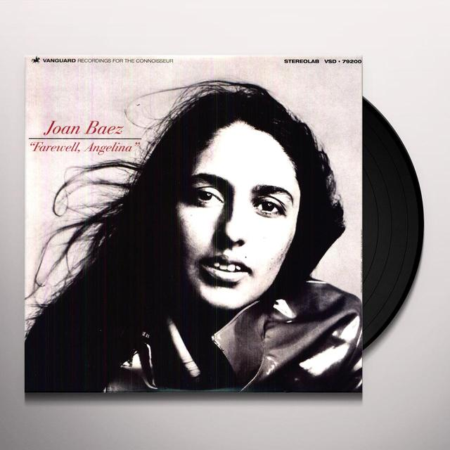 Joan Baez FAREWELL ANGELINA Vinyl Record - Remastered