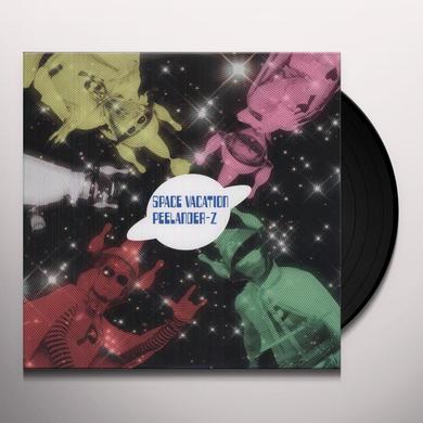 Peelander-Z SPACE VACATION (W/DVD) Vinyl Record