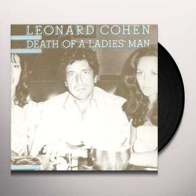 Leonard Cohen DEATH OF LADIES MAN Vinyl Record