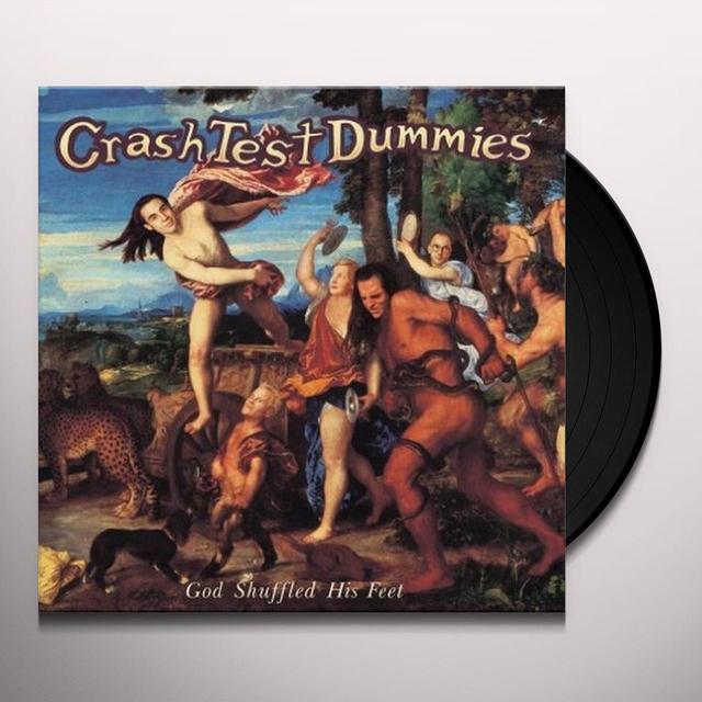 Crash Test Dummies GOD SHUFFLED HIS FEET Vinyl Record - 180 Gram Pressing