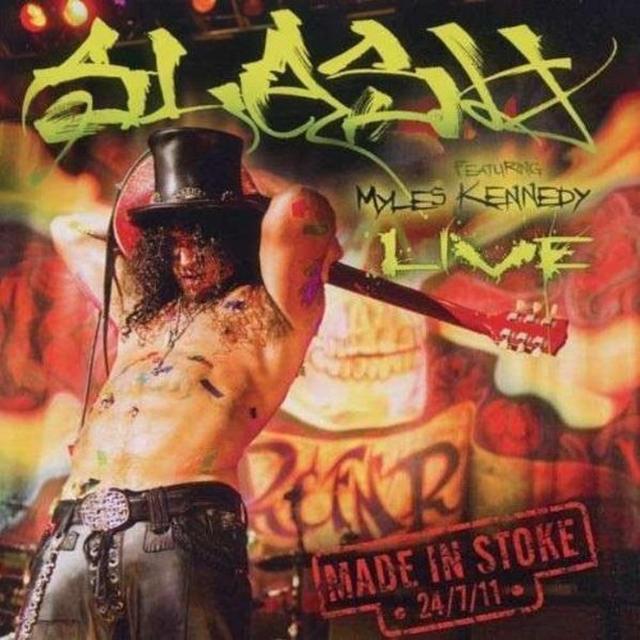 Slash MADE IN STOKE Vinyl Record - Limited Edition, 180 Gram Pressing, Reissue