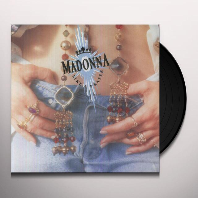 Madonna LIKE A PRAYER Vinyl Record - 180 Gram Pressing