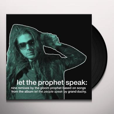 Grand Duchy LET THE PEOPLE SPEAK Vinyl Record