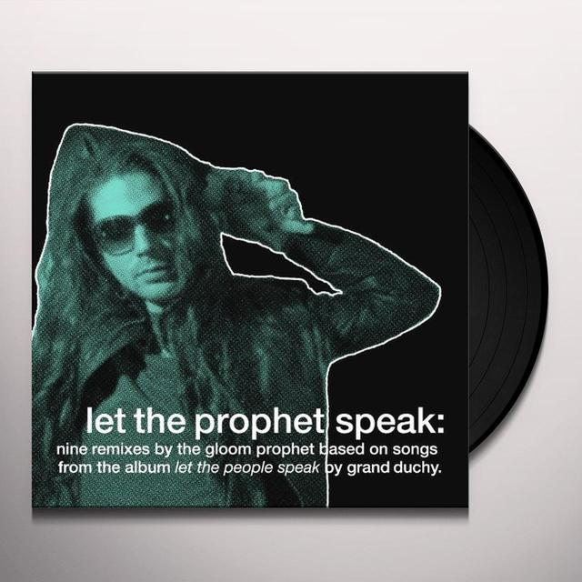 Grand Duchy LET THE PEOPLE SPEAK Vinyl Record - Limited Edition