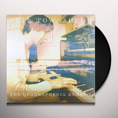 Pete Townshend QUADROPHENIA DEMOS 2 Vinyl Record