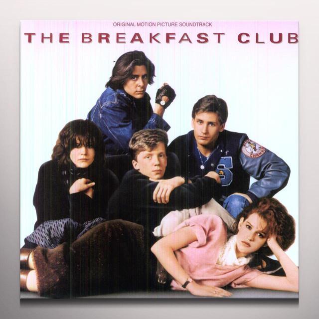 Breakfast Club (Original Soundtrack Colv) BREAKFAST CLUB / O.S.T. Vinyl Record - Colored Vinyl