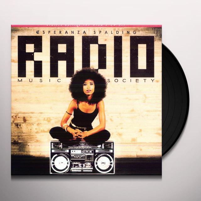 Esperanza Spalding RADIO MUSIC SOCIETY Vinyl Record