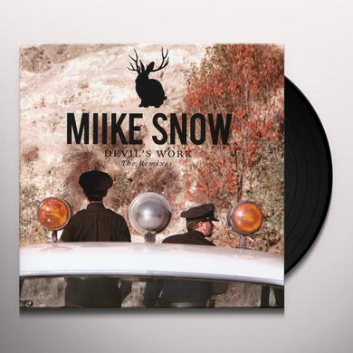 Miike Snow DEVILS WORK THE REMIXES Vinyl Record