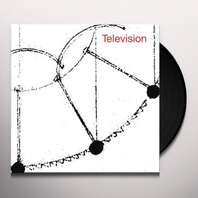 TELEVISION Vinyl Record - 180 Gram Pressing, Reissue