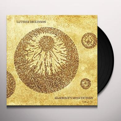 Luther Dickinson HANDBONE'S MEDITATIONS Vinyl Record