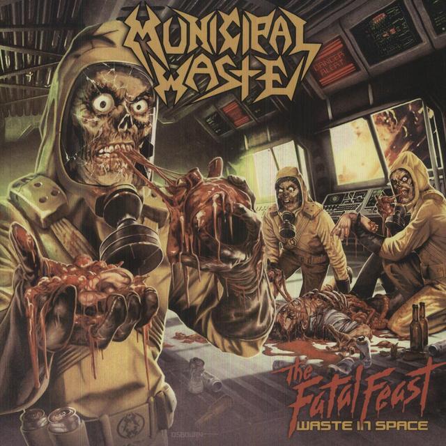 Municipal Waste FATAL FEAST Vinyl Record