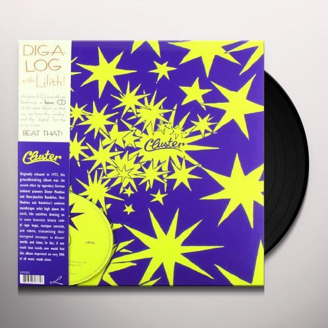 Cluster II Vinyl Record - w/CD