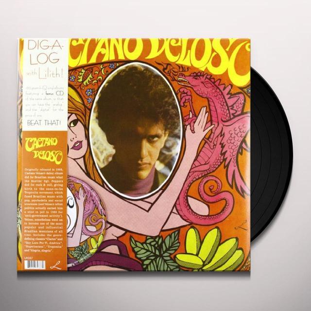 CAETANO VELOSO Vinyl Record - w/CD