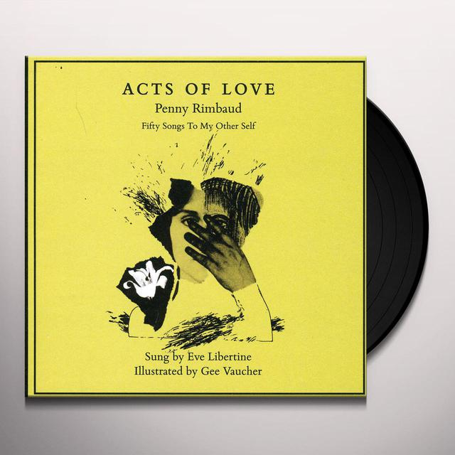 Penny Rimbaud ACTS OF LOVE Vinyl Record