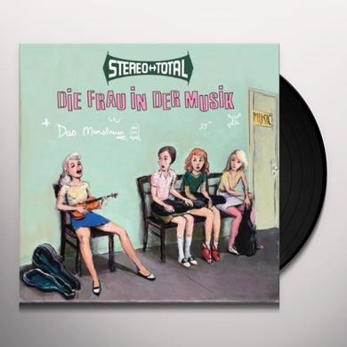 Stereo Total DIE FRAU IN DER MUSIK Vinyl Record