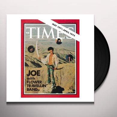 Joe With Flower Travellin Band TIMES Vinyl Record