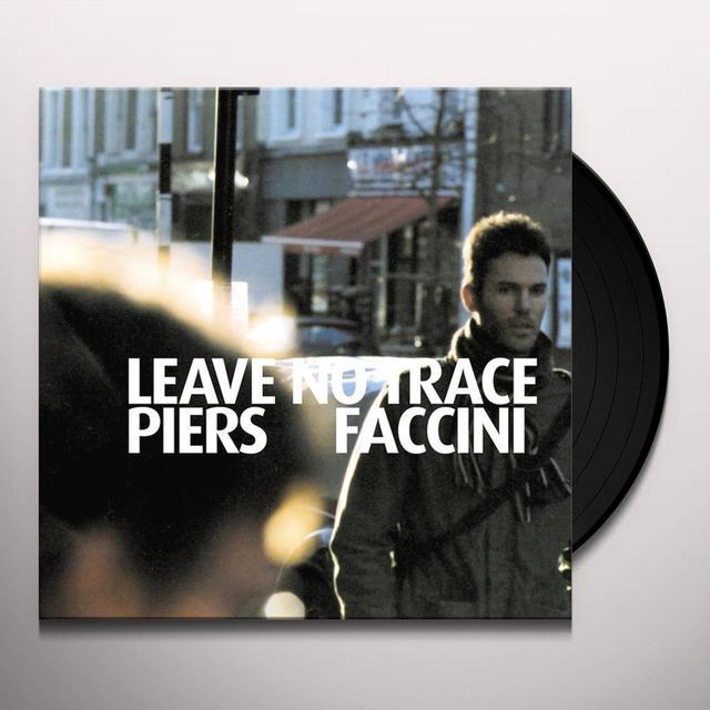 Piers Faccini LEAVE NO TRACE Vinyl Record