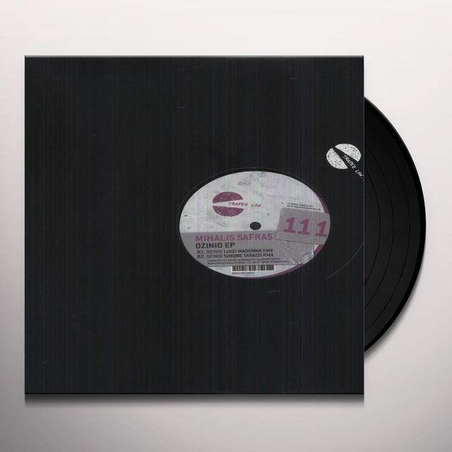 Mihalis Safras OZINIO (EP) Vinyl Record
