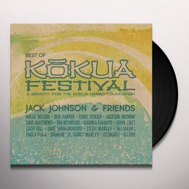 JACK JOHNSON & FRIENDS: BEST OF KOKUA FESTIVAL Vinyl Record