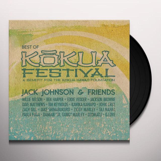 JACK JOHNSON & FRIENDS: BEST OF KOKUA FESTIVAL Vinyl Record