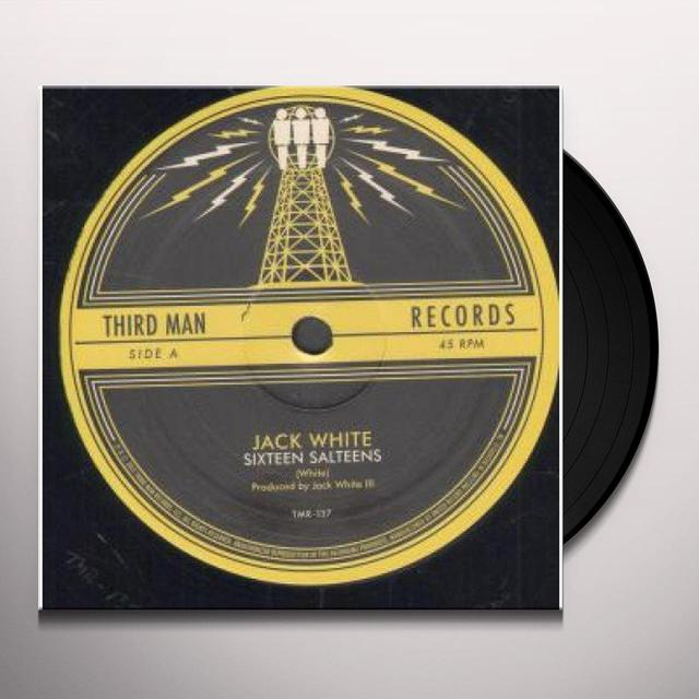 Jack White SIXTEEN SALTINES / LOVE IS BLINDNESS Vinyl Record