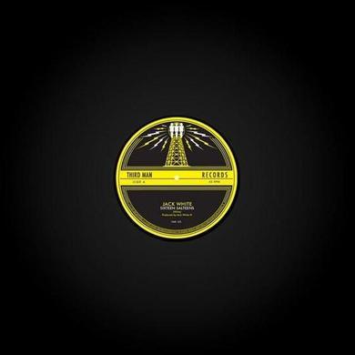 Jack White SIXTEEN SALTINES / LOVE IS BLINDNESS Vinyl Record