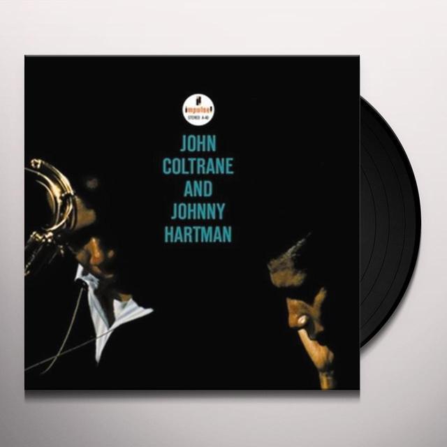 JOHN COLTRANE & JOHNNY HARTMAN Vinyl Record - 180 Gram Pressing