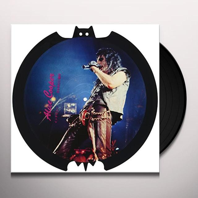 Alice Cooper SAW SHAPED PICTURE DISC Vinyl Record