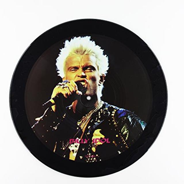 Billy Idol INTERVIEW PICTURE Vinyl Record