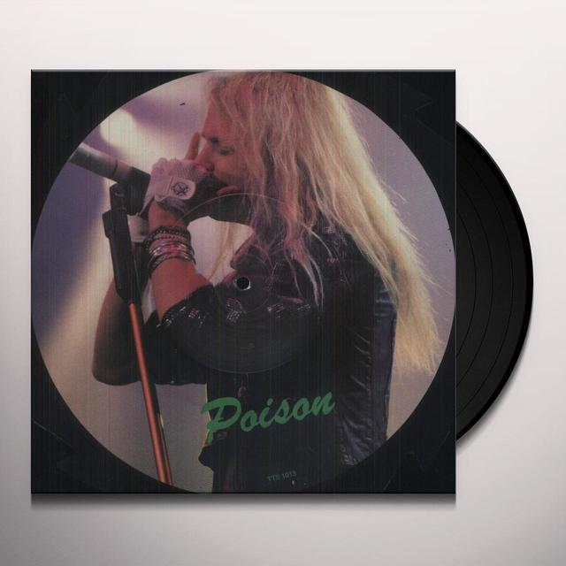 Poison SAW SHAPED PICTURE DISC Vinyl Record