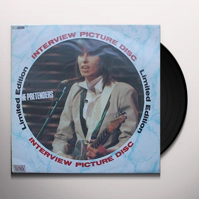 Pretenders INTERVIEW PICTURE DISC Vinyl Record