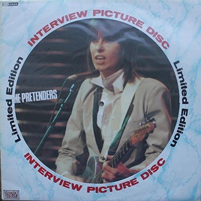 Pretenders INTERVIEW PICTURE DISC Vinyl Record