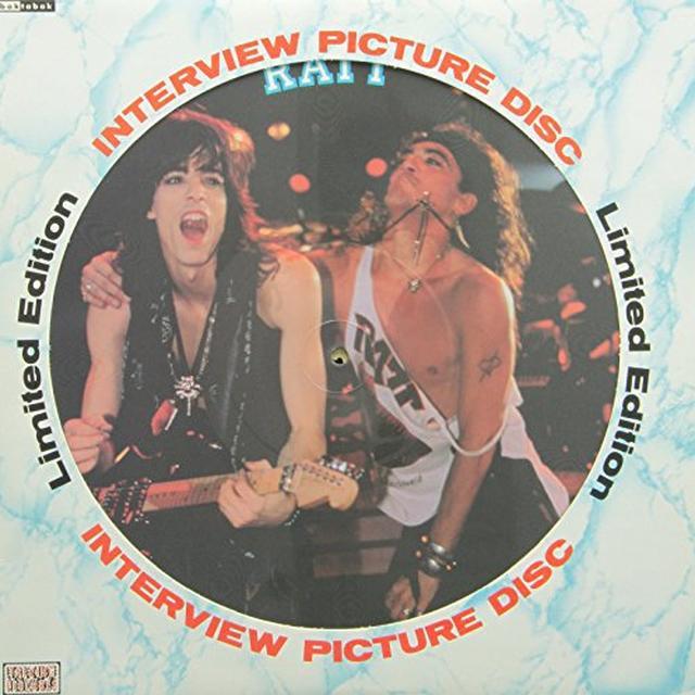 Ratt INTERVIEW PICTURE DISC Vinyl Record