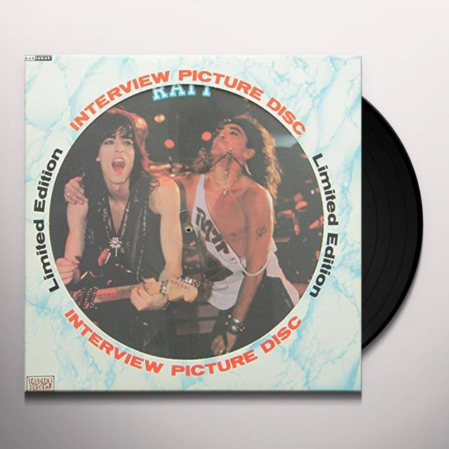 Ratt INTERVIEW PICTURE DISC Vinyl Record