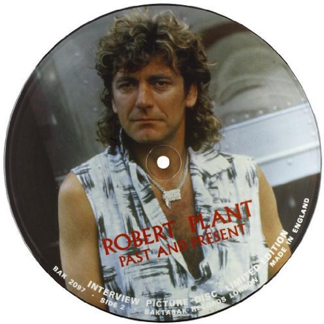 Robert Plant INTERVIEW PICTURE DISC Vinyl Record