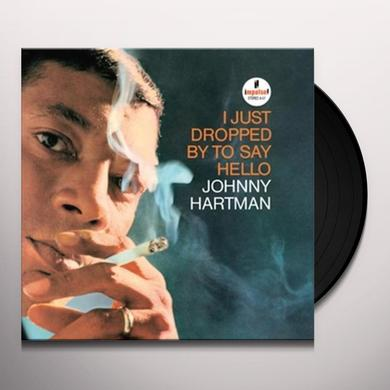 Johnny Hartman I JUST DROPPED BY TO SAY HELLO Vinyl Record