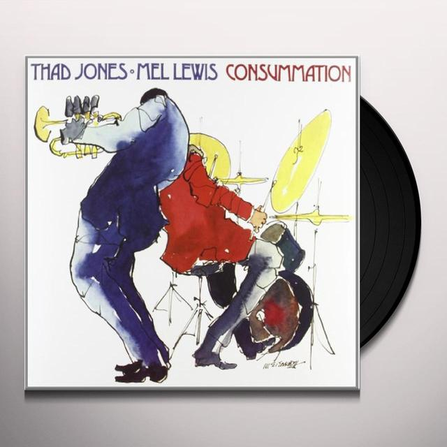 Thad Jones / Mel Lewis CONSUMMATION Vinyl Record - 180 Gram Pressing
