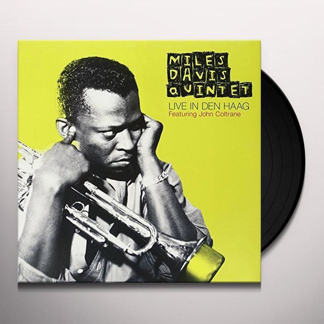 Miles Davis Quintet LIVE IN DEN HAAG Vinyl Record - Limited Edition
