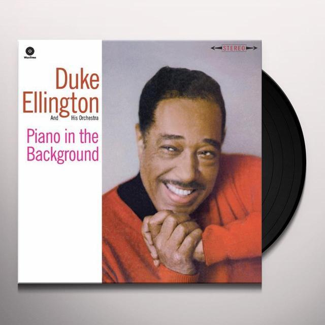 Duke Ellington & His Cotton Club Orchestra PIANO IN THE BACKGROUND Vinyl Record - Remastered