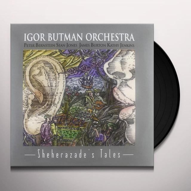 Igor Butman SHEHERAZADE'S TALES Vinyl Record