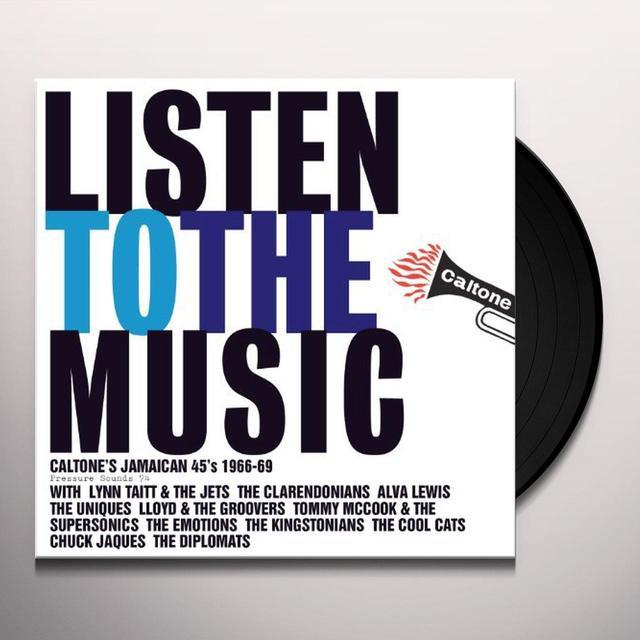 LISTEN TO MUSIC: CALTONE'S JAMAICAN 45'S / VAR Vinyl Record