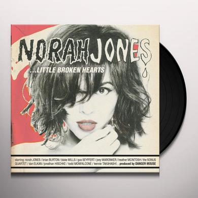 Norah Jones LITTLE BROKEN HEARTS Vinyl Record