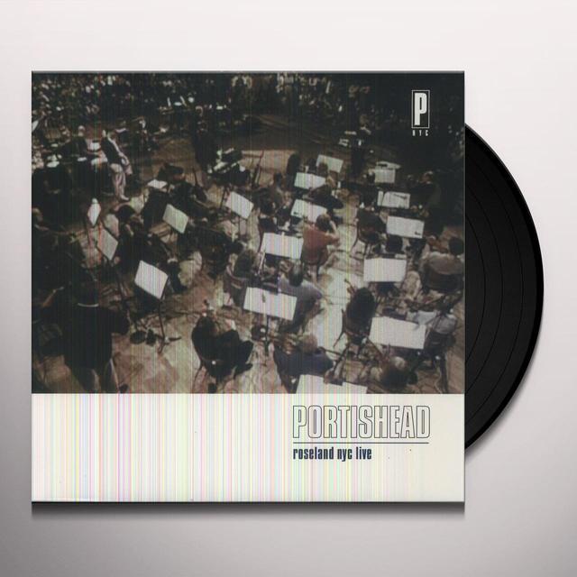 Portishead ROSELAND NYC LIVE Vinyl Record - 180 Gram Pressing