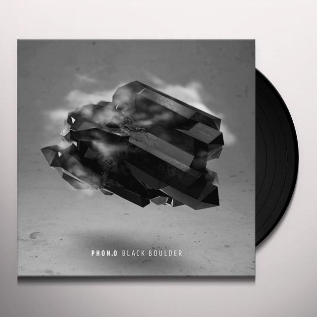 Phon.O BLACK BOULDER Vinyl Record